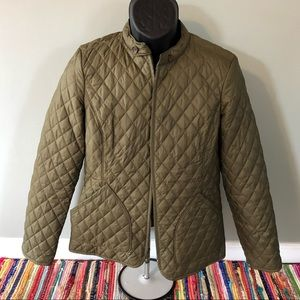 Banana Republic Thin Puffer Jacket Ski Wonter Snow
